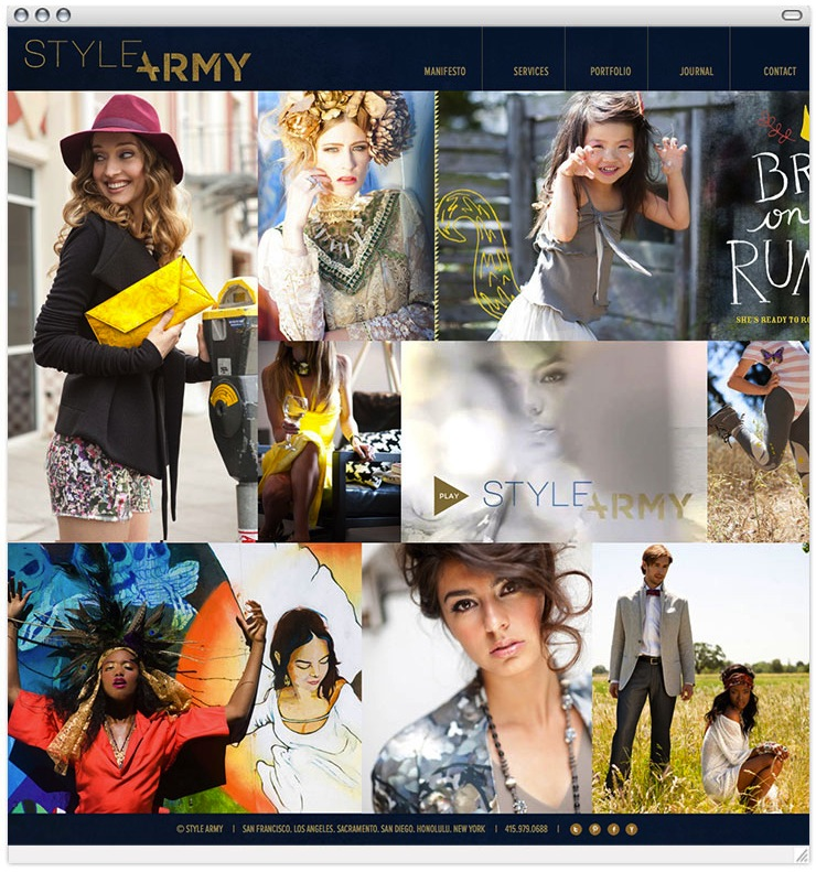 Style Army Home