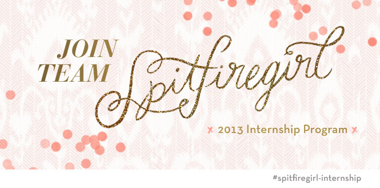 2013 Spring internship program at Spitfiregirl Design