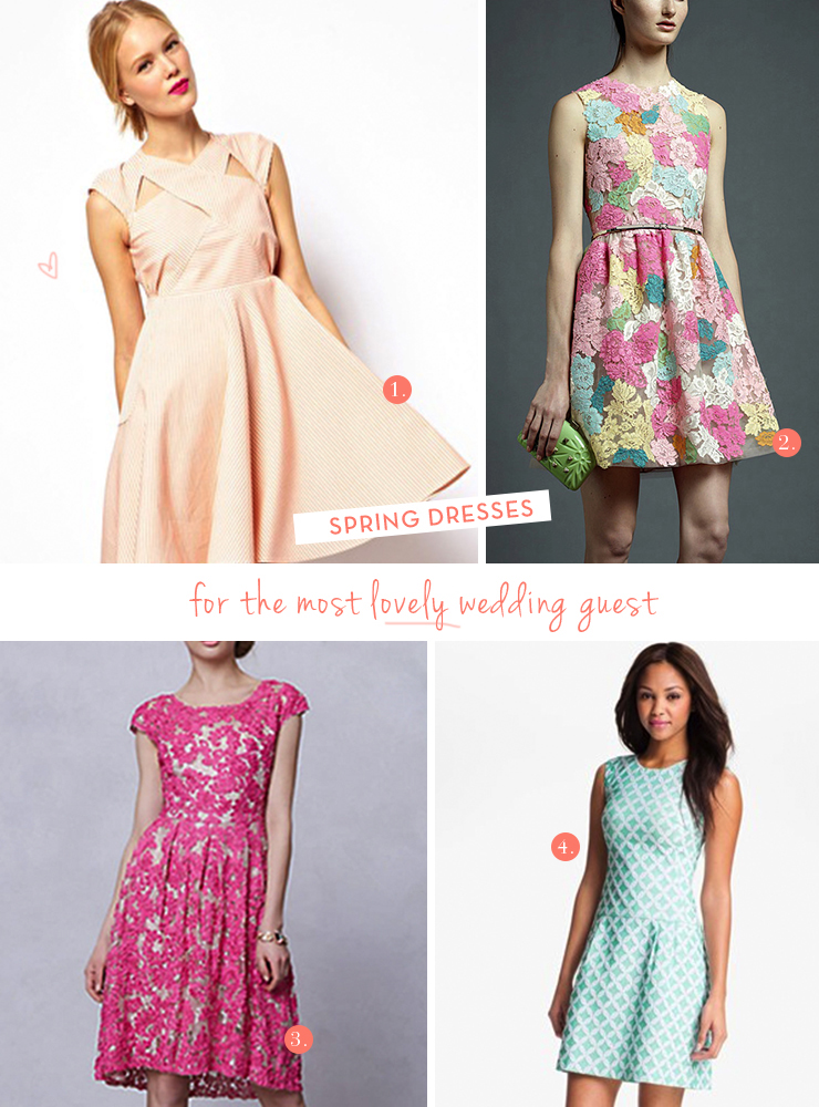 dresses to wear to a spring wedding spring dresses to wear to a