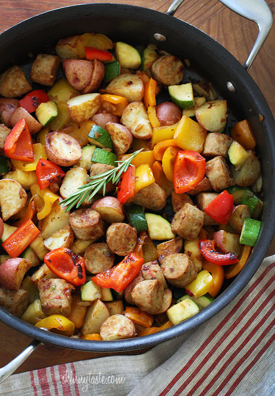 Summer-Vegetables-with-Sausage-and-Potatoes