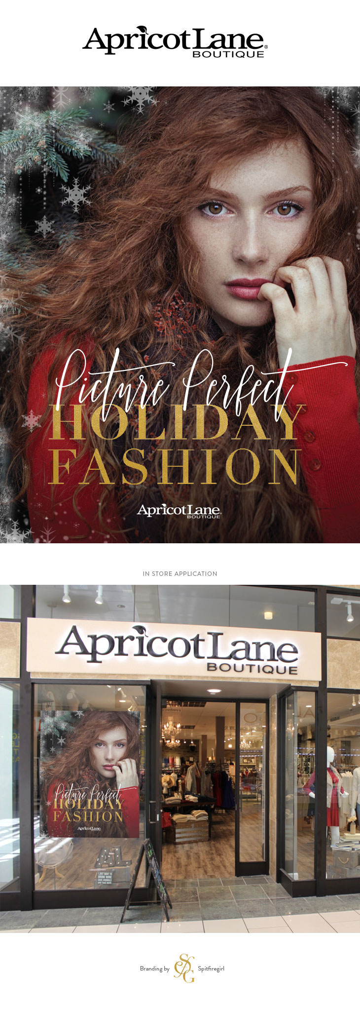 Apricot Lane Holiday Fashion Campaign | Spitfiregirl